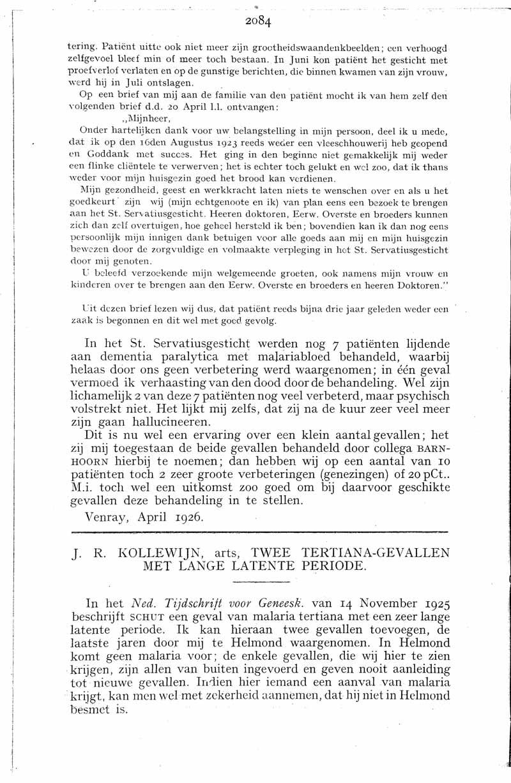 De Stovia 1851 - Gedenkboek - 1926
