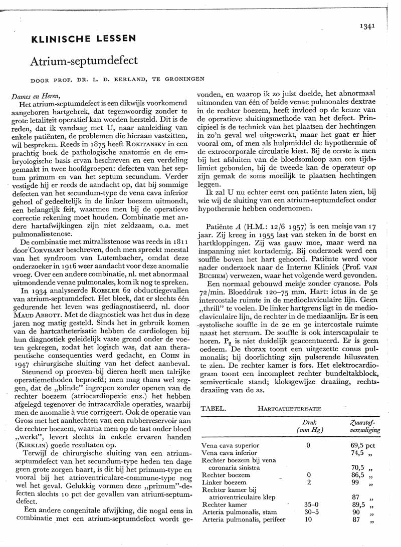 Atrium-septum-defect
