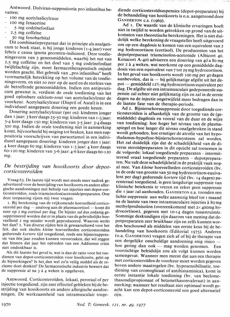 triamcinolon injectie