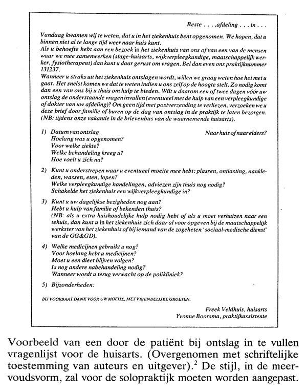 ontslagbrief ziekenhuis voorbeeld De ontslagbrief | Nederlands Tijdschrift voor Geneeskunde ontslagbrief ziekenhuis voorbeeld