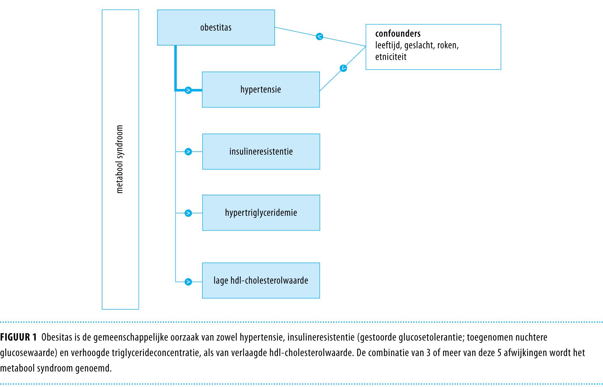 relatie tussen overgewicht en diabetes tipo 2